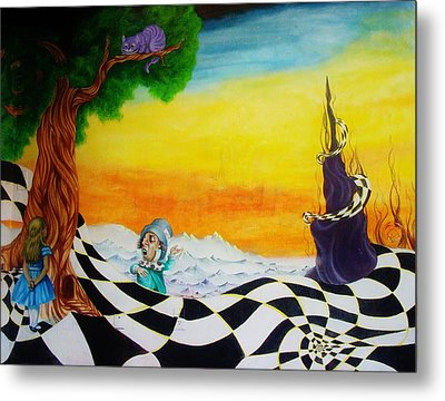 Alice In Wonderland Metal Print by Ben Christianson