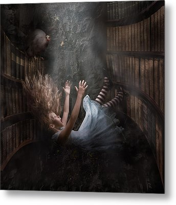 Alice Metal Print by Karen Alsop