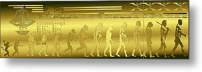 Metal Print featuring the photograph Alien Evolution by Robert G Kernodle