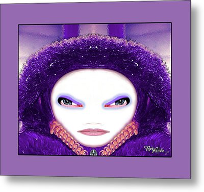 Metal Print featuring the photograph Alien Mom #194 by Barbara Tristan