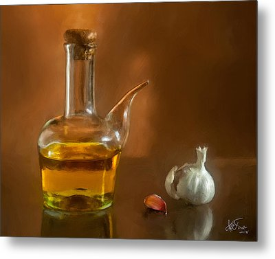 Metal Print featuring the photograph Alioli by Juan Carlos Ferro Duque