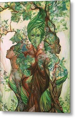 Alive Tree Metal Print
