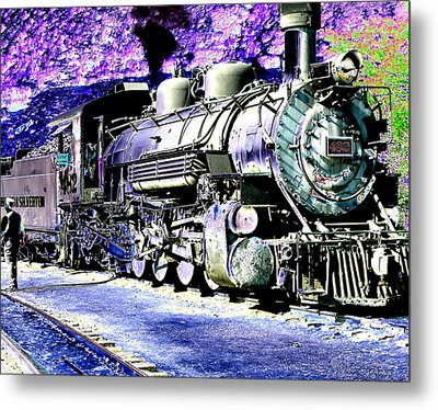 All Aboard Metal Print by Peter  McIntosh