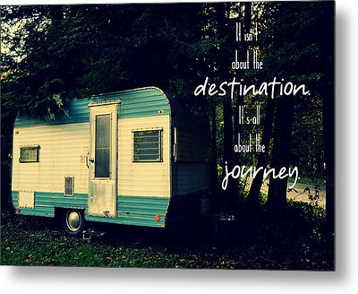 All About The Journey Metal Print