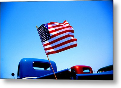 All American Metal Print by Ralph Vazquez