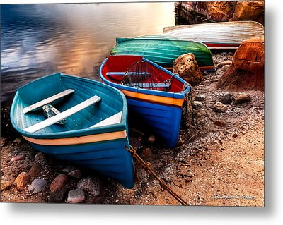 All Ashore Metal Print by Christopher Holmes