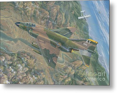 All For One   The Rescue Of Boxer 22 Ban Phanop Laos 5 Thru 7 December 1969 Metal Print by Randy Green