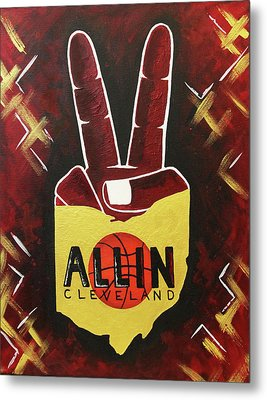 All In Metal Print by Allison Liffman