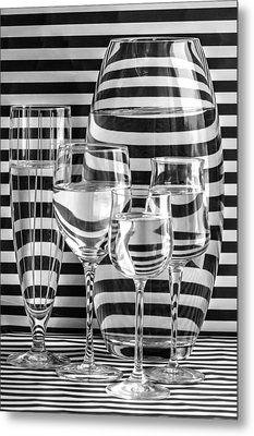 All Lined Up And Ready Metal Print by Maggie Terlecki