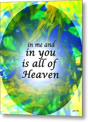 All Of Heaven Metal Print