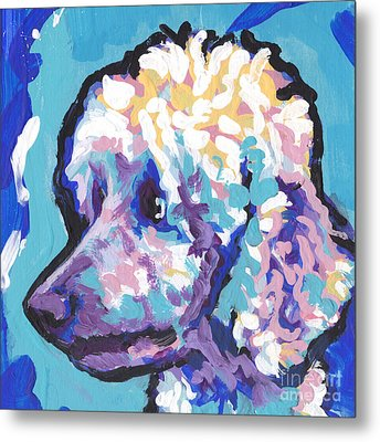 All Poodle Metal Print by Lea S