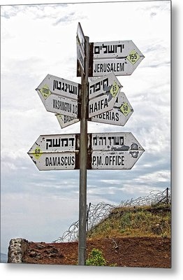 All Roads Lead Somewhere Metal Print