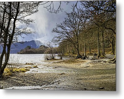 Metal Print featuring the photograph All Seasons At Loch Lomond by Jeremy Lavender Photography