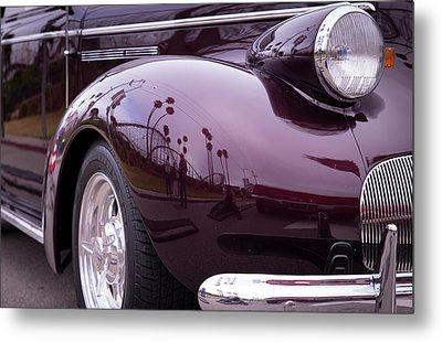 Metal Print featuring the photograph All The Curves by Lora Lee Chapman
