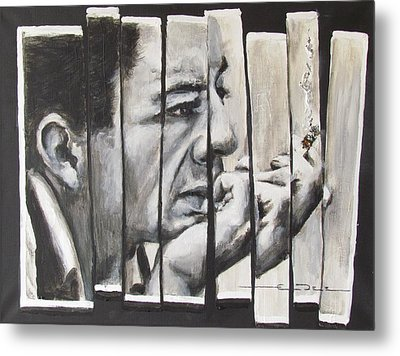 All Together Johnny Cash Metal Print by Eric Dee