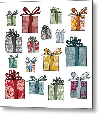 All Wrapped Up Metal Print by Sarah Hough