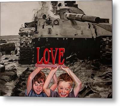 All You Need Is... Metal Print by Valerie Patterson