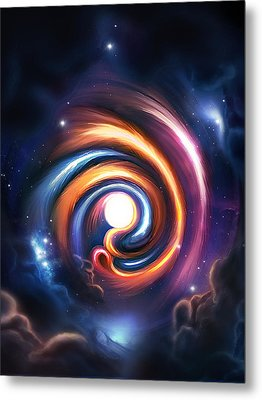 Allah  Enlightenment  Metal Print by Ahmer Farooqui