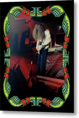 Metal Print featuring the photograph A C Winterland Bong 5 by Ben Upham