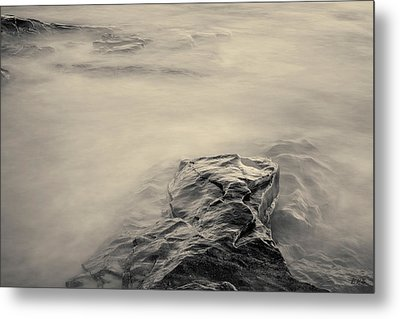 Metal Print featuring the photograph Allens Pond Xii Toned by David Gordon