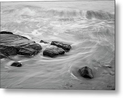 Metal Print featuring the photograph Allens Pond Xiii Bw by David Gordon