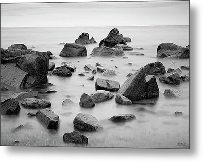 Metal Print featuring the photograph Allens Pond Xiv Bw by David Gordon