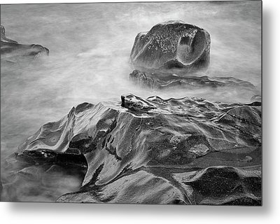 Metal Print featuring the photograph Allens Pond Xvii Bw by David Gordon