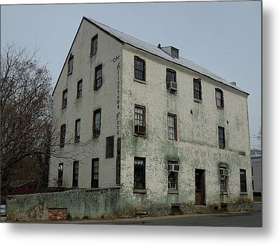 Allentown Gristmill Metal Print by Steven Richman