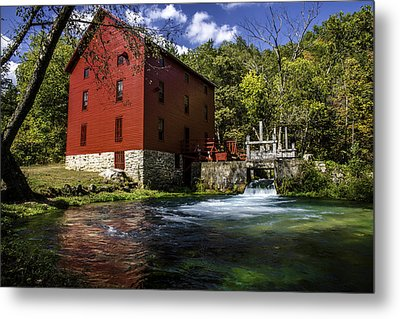 Alley Springs Mill 2 Metal Print by Kevin Whitworth