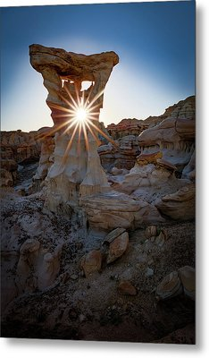 Allien's Throne Metal Print by Edgars Erglis