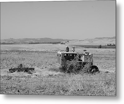 Allis-chalmers Tractor Metal Print by Troy Montemayor