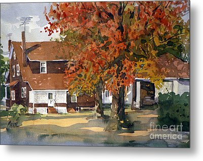 Allison's House Metal Print by Donald Maier
