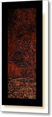 Allure Of Earth 9 Metal Print by Amrita Basu