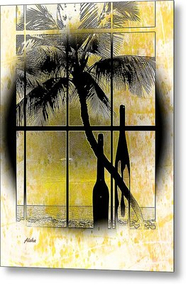 Metal Print featuring the photograph Aloha,from The Island by Athala Carole Bruckner