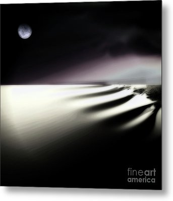Alone Metal Print by Mindy Sommers