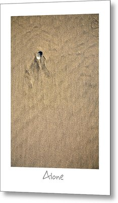 Alone Metal Print by Peter Tellone