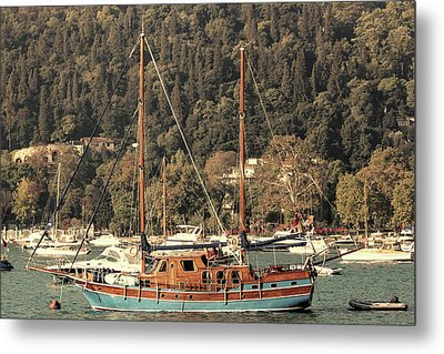 Metal Print featuring the photograph Along The Bosphorus-istanbul by Tom Prendergast