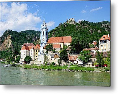 Along The Beautiful Danube River Metal Print by Lanis Rossi