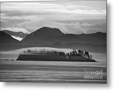 Metal Print featuring the photograph Along The Inland Passage by Stan and Anne Foster