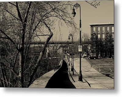 Along The River Metal Print by Lois Lepisto