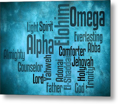 Metal Print featuring the digital art Alpha by Angelina Vick