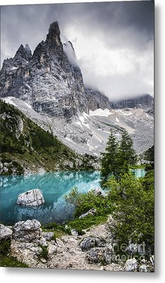 Alpine Lake Metal Print by Yuri Santin