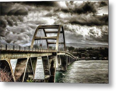 Alsea Bay Bridge Metal Print