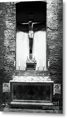 Alter Of Sacrifice Metal Print by John Rizzuto