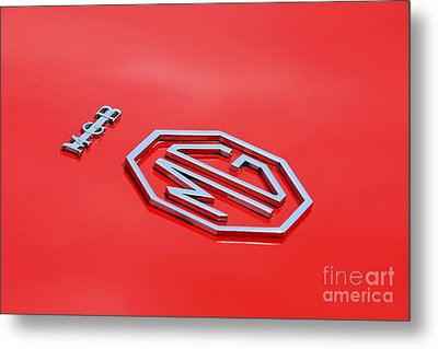 Metal Print featuring the photograph Aluminum Font by Stephen Mitchell