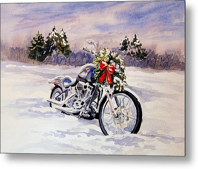 Always A Good Day For A Ride Metal Print