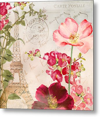 Always Paris Metal Print by Mindy Sommers
