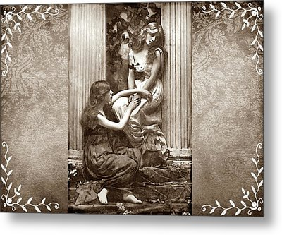 Metal Print featuring the digital art Always There by Mary Morawska