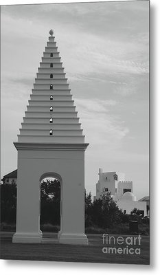 Alys Beach Butteries Metal Print