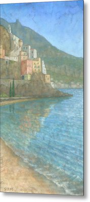 Amalfi Metal Print by Steve Mitchell